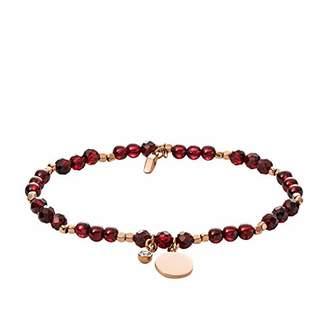 Fossil Women's Garnet Bracelet