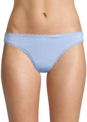 Calvin Klein Underwear Lace-Trimmed Thong
