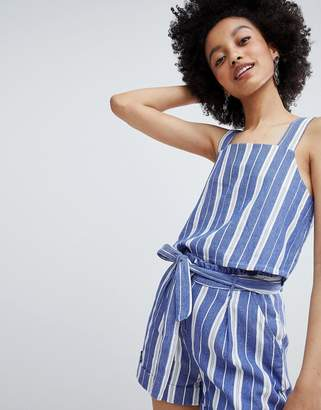 Only Stripe Cami Top Two-Piece