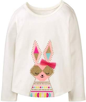 Crazy 8 Crazy8 Toddler Sparkle Bunny Tee