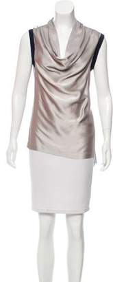 Yigal Azrouel Sleeveless Contrasted Top