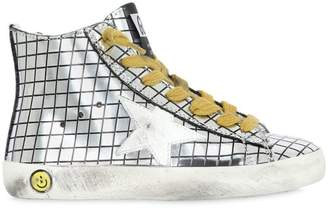 Golden Goose Super Star Brushed Leather Sneakers
