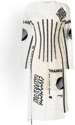 Stella McCartney Thanks Girls print Kim dress