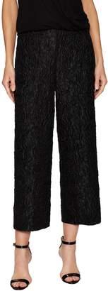 Akris Women's Caro Textured Cropped Pant