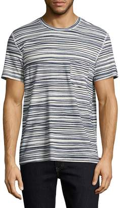 7 For All Mankind Men's Stripe Tee