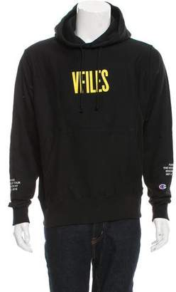 VFILES x Champion Purpose Tour Security Print Sweatshirt