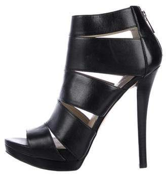 MICHAEL Michael Kors Leather High Heel Sandals