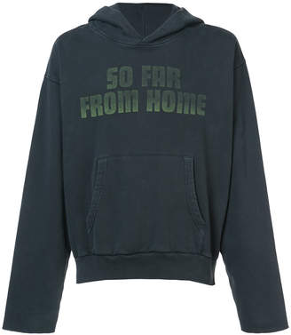 Off-White so far from home print hoodie