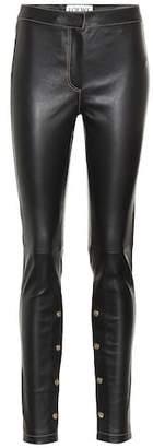 Loewe Stretch leather pants