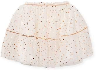 Billieblush Baby Girl's & Little Girl's Polka Dot Skirt