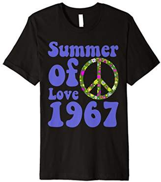 1967 Summer of Love Retro Tees Sixties Flower Power Shirt