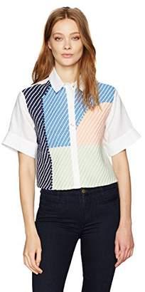 Mara Hoffman Women's Weave Button up