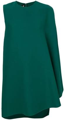 Calvin Klein draped sleeve shift dress