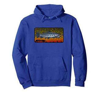 Fly London Contemporary Brook Trout Fishing Hoodie Derek DeYoung