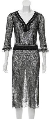Mayle Lace Midi Dress