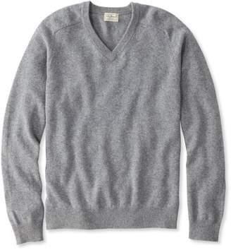 L.L. Bean L.L.Bean Lambswool V-Neck Sweater