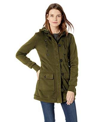 Yoki Women's Multi Pocket Long Fleece Jacket