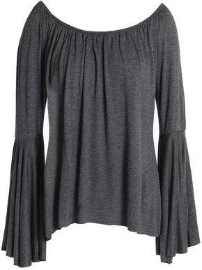 Eastbay Cheap Price Bailey 44 Woman Draped Gathered Stretch-jersey Top Gray Size L Bailey 44 Buy Cheap Find Great Cheap Sale Very Cheap The Cheapest Online hf2khHZkZ