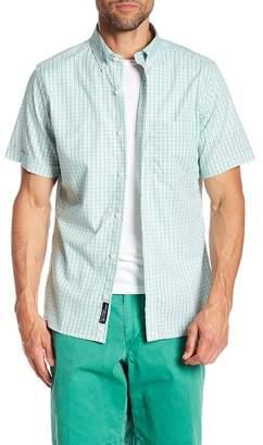 Bills Khakis Augusta Checkered Spring Green Classic Fit Shirt