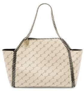 Stella McCartney Falabella Monogrammed Dual Tote Bag