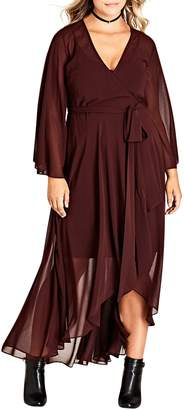 City Chic 'Fleetwood' Maxi Dress