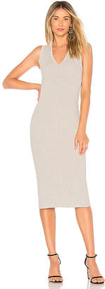 James Perse Binding Fitted Rib Dress