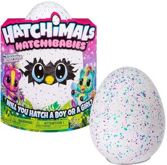 Hatchimals Hatchibabies Speckled Egg