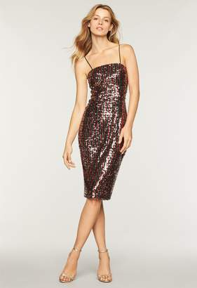Milly Stripe Sequins Chrystie Dress