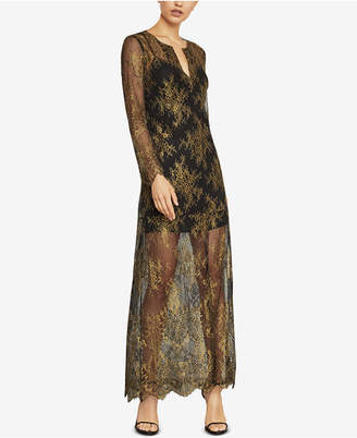 BCBGMAXAZRIA Lace Kaftan Dress