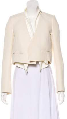 Chloé Open Front Cropped Blazer w/ Tags