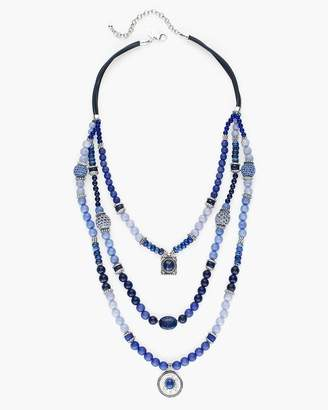 Bess Long Multi-Strand Necklace