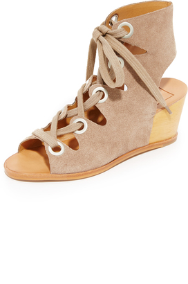 Dolce Vita Lei Wedges $150 thestylecure.com