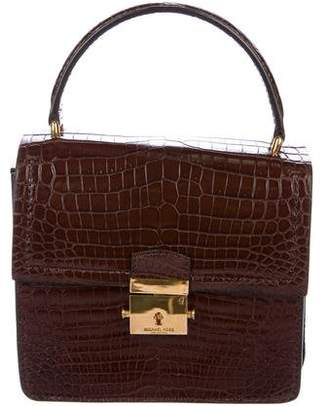 Michael Kors Crocodile Mia Crossbody Bag