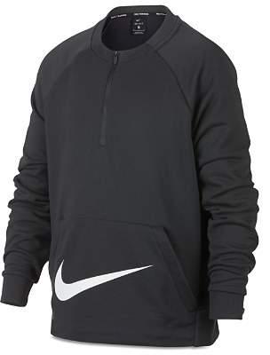 Nike Boys' Dri-Fit Performance Quarter-Zip Sweatshirt - Big Kid