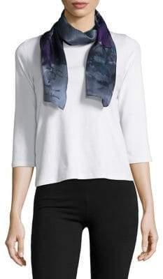 Lauren Ralph Lauren Claudette Printed Silk Scarf