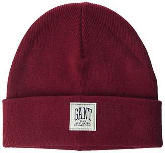 Red Knit Beanie Men s - ShopStyle UK 04aa363427f3