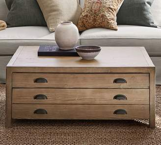 Pottery Barn Architects Reclaimed Wood Coffee Table