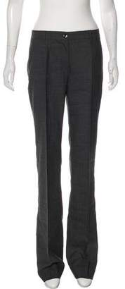 Dolce & Gabbana Virgin Wool Wide-Leg Pants