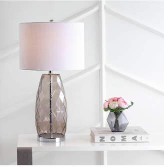 Jonathan Y Juliette Glass, Metal Led Table Lamp