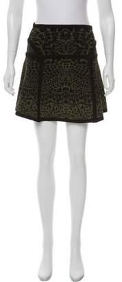 Diane von Furstenberg Printed Mini Skirt