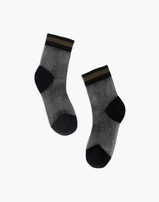 Madewell Tailored Union Lisse Sheer Ankle Socks