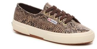 Superga 2750 Cotu Classic Snake Sneaker $79 thestylecure.com