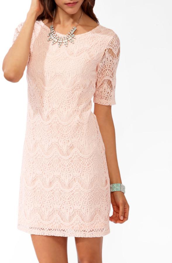Forever 21 Eyelash Lace Bodycon Dress