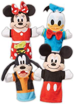 Melissa & Doug Mickey Mouse & Friends Soft Hand Puppets