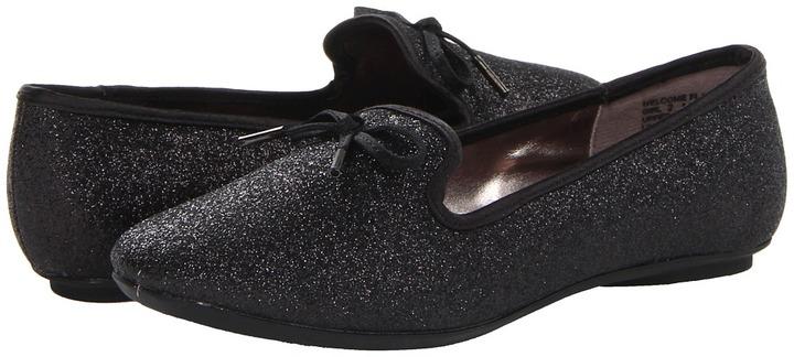 Kenneth Cole Reaction Welcome Flat (Little Kid/Big Kid) (Black) - Footwear