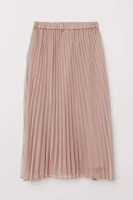 H&M Pleated Skirt - Pink