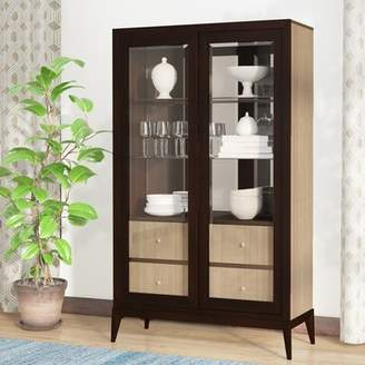 World Menagerie Coletta Lighted China Cabinet