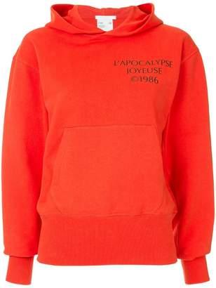 Helmut Lang Log Hack hoodie