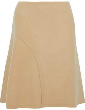Nina Ricci Fluted Wool-Blend Skirt