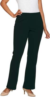 Susan Graver Tall Full Length Flare Pull-On Pants
